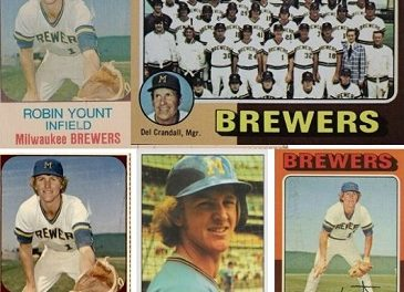 Enjoy Robin Yount Rookie Cards 8 Days a Week