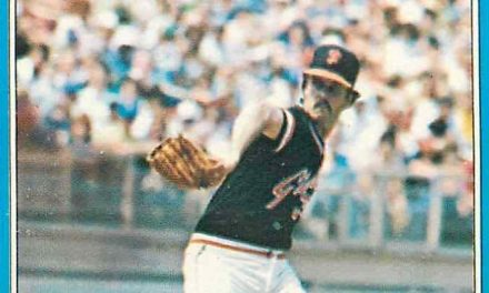 1981 O-Pee-Chee Bob Knepper Covered All the Bases