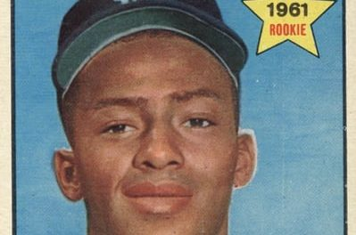 1961 Topps Jake Wood Rookie Card Was Something Special