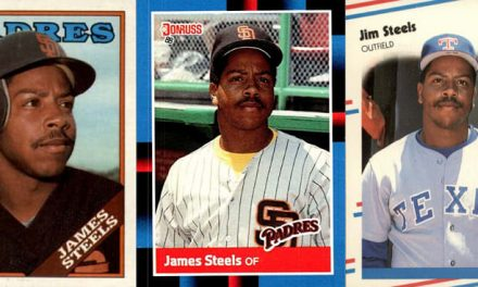 1988 James Steels (Jim?) Baseball Cards Sealed His Fate