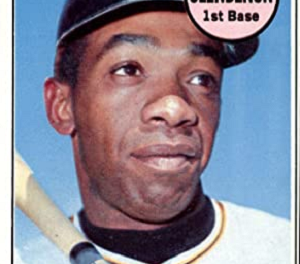 1969 Topps Donn Clendenon Didn't Really Exist