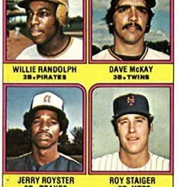 1976 Topps Traded Willie Randolph a Trendsetter
