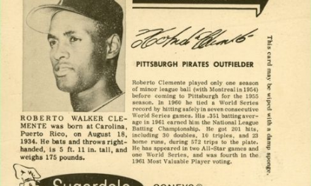 1962 Sugardale Wieners Roberto Clemente a Class Act