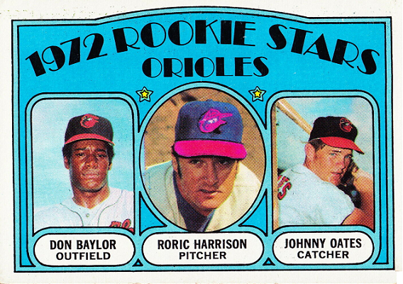1972 Topps Roric Harrison Put Its Groovy Best Foot Forward