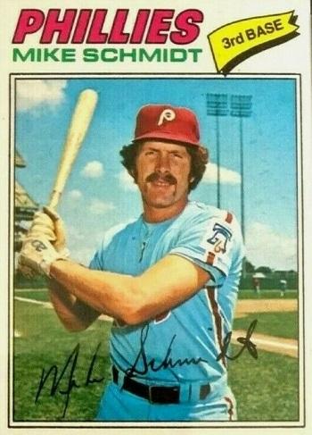 1977 Topps Mike Schmidt (#140)