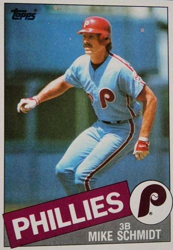 1985 Topps Mike Schmidt (#500)