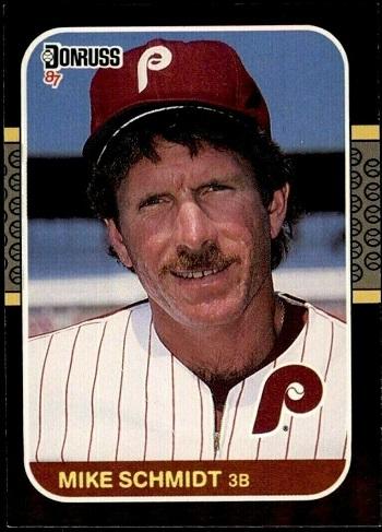 1987 Donruss Mike Schmidt (#139)