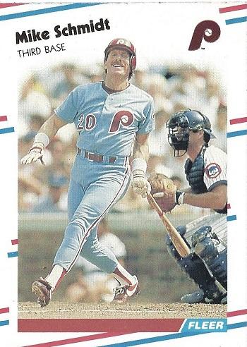 1988 Fleer Mike Schmidt (#315)