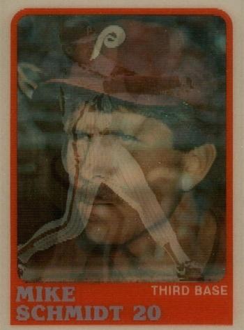 1988 Sportflics Mike Schmidt (#35)