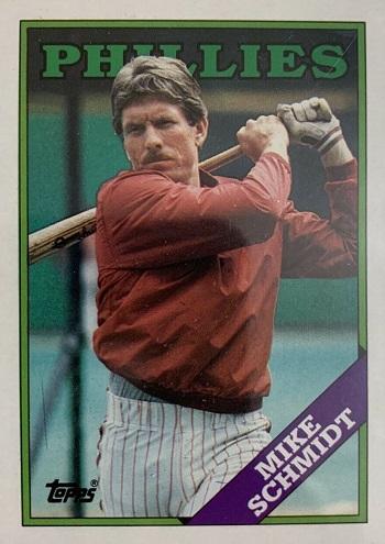 1988 Topps Mike Schmidt (#600)