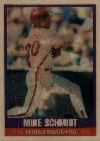 1989 Sportflics Mike Schmidt (#21)