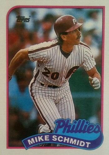 1989 Topps Mike Schmidt (#100)
