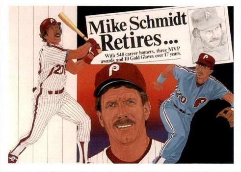 1990 Upper Deck Mike Schmidt (#20)