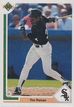 1991 Upper Deck Tim Raines (#773)