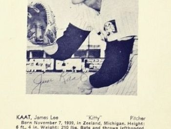 1965 Trade Bloc Minnesota Twins Jim Kaat a Snapshot of a Never-Again Moment