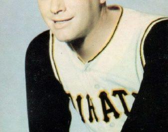 1968 KDKA Pittsburgh Pirates Jim Bunning an Unusual Sight