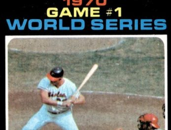 This 1971 Topps Boog Powell Card Made World Series History