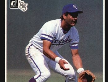 1985 Donruss Highlights and the Magic of George Brett in November