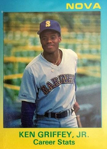 Ken Griffey Jr Rookie Cards 1988-89 Star Nova Edition Ken Griffey Jr. Career Stats