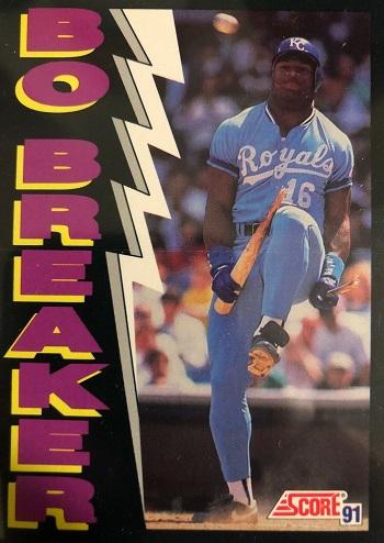 1991 Score Bo  Jackson