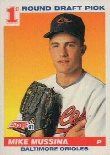 1991 Score Mike  Mussina