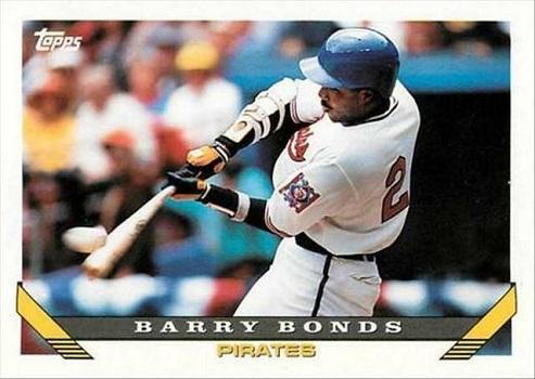 1993 Topps Barry  Bonds