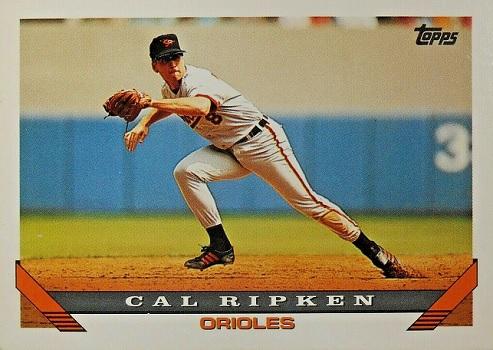1993 Topps Cal Ripken