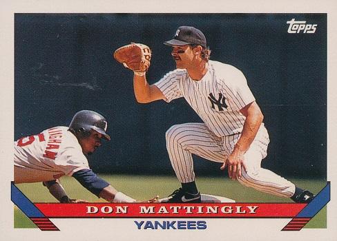 1993 Topps Don  Mattingly