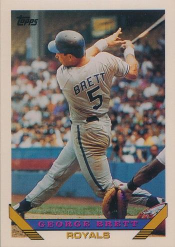 1993 Topps George  Brett