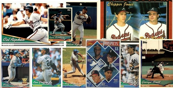 1994 Topps Baseball Cards – 10 Most Popular