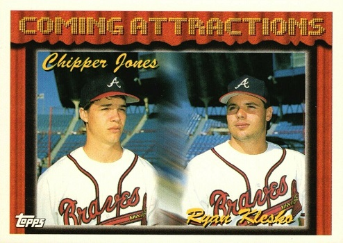 1994 Topps Chipper  Jones-Ryan  Klesko