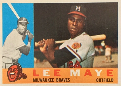 1960 Topps Lee Maye as Confusing as Ever