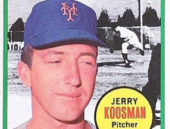 1969 Topps Jerry Koosman All-Star Card Had the Last Laugh