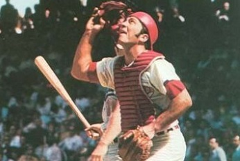 1977 Sportscaster Card Johnny Bench Invented Stuff
