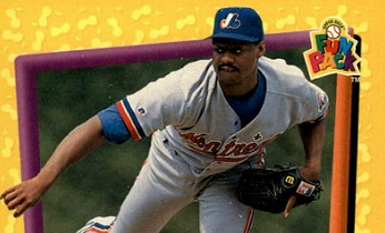 1994 Fun Pack Montreal Expos Ken Hill Was Just Aces