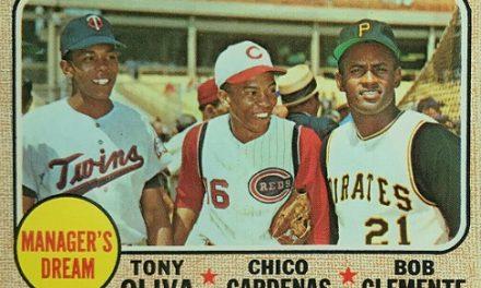 Chico Cardenas Was a Bonus on 1968 Topps Manager's Dream