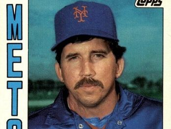 1984 Topps Traded Davey Johnson a Second-Chance Rookie card