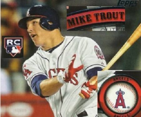 Mike Trout rookie Cards on eBay — Most Watched!