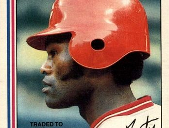 1982 O-Pee-Chee George Foster Was the First of Its Kind