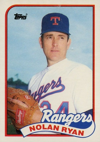 1989 Topps Traded Nolan Ryan