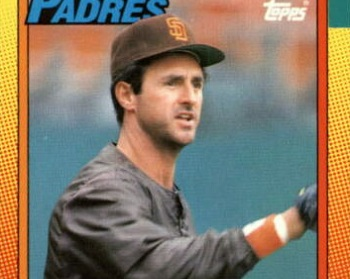 1990 Topps Fred Lynn Covered (almost) All the Bases