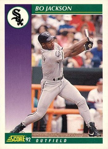1992 Score Bo Jackson