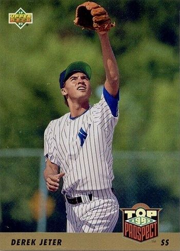 1993 Upper Deck Derek Jeter Gold Hologram