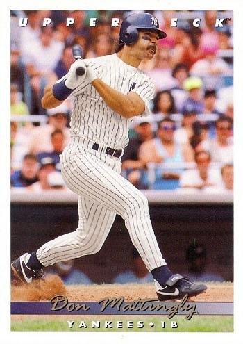 1993 Upper Deck Don Mattingly
