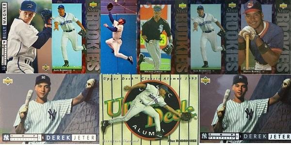 1994 Upper Deck Baseball Cards – 12 Most Valuable