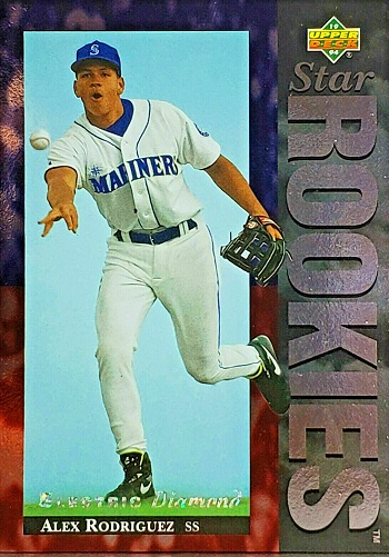 1994 Upper Deck Alex Rodriguez Electric Diamond