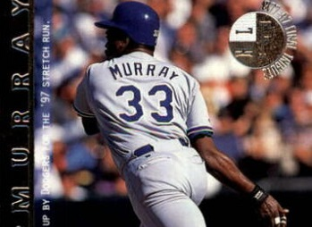 1998 Upper Deck Final Tribute Captured Eddie Murray in His Second Home