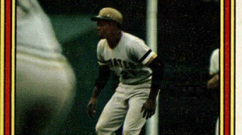 1972 Topps World Series Roberto Clemente a Classic in Waiting
