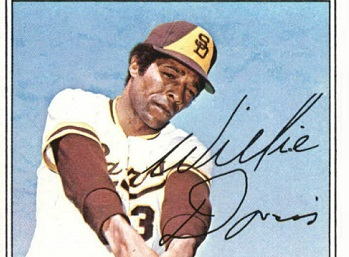1977 Topps Willie Davis Missed the Final Chapter
