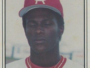 1982 TCMA Cedar Rapids Reds Eric Davis Missed the Do-Over